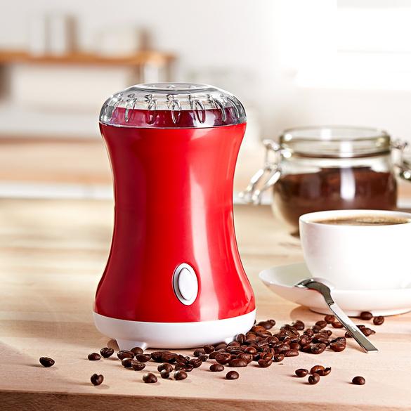 Moulin à café, rouge
