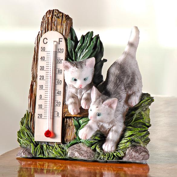Thermomètre « Chatons »