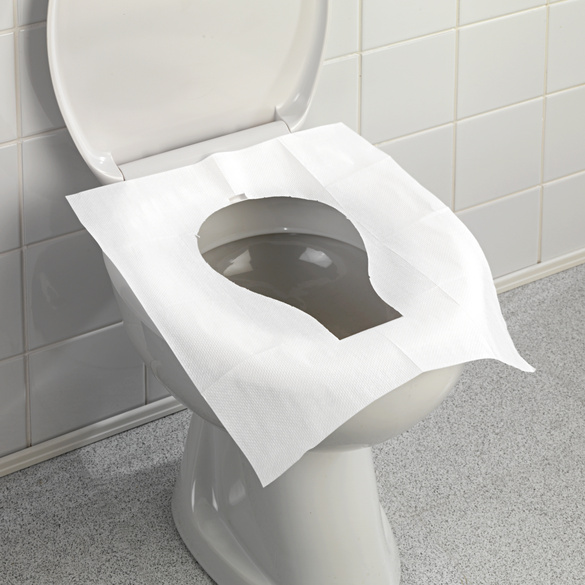 Protections en papier pour WC