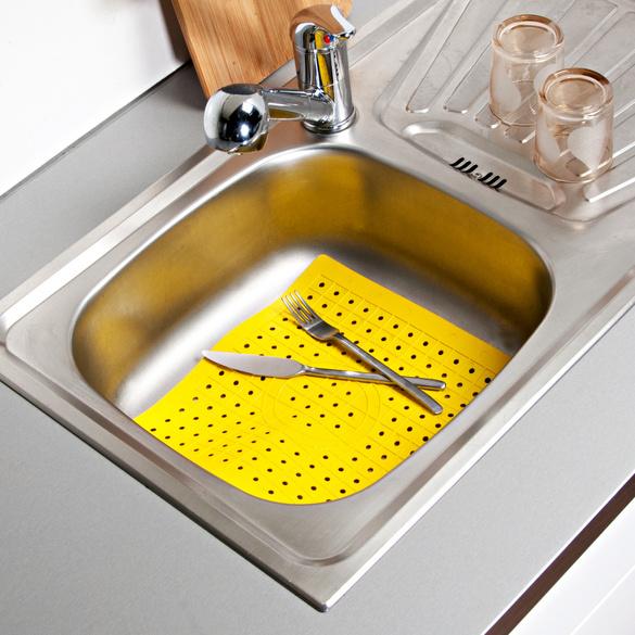Tapis d'évier, jaune