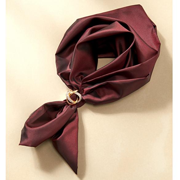Clip à écharpe, coloris or