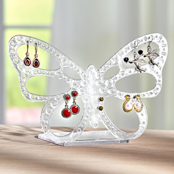 Support à boucles d'oreilles Papillon