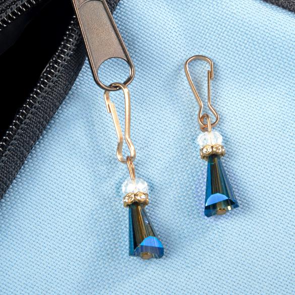 Lot de 2 anges gardiens, bleu