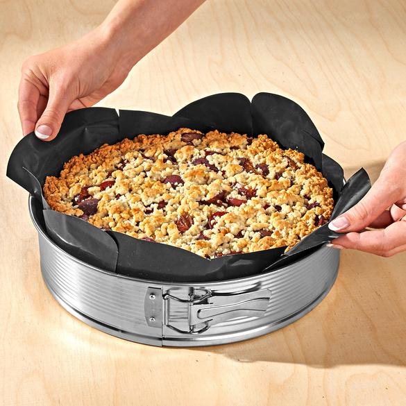 Feuille de cuisson réutilisable en Téflon, rond