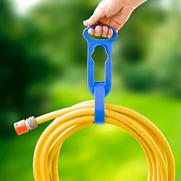 Lot de 2 supports à tuyaux/câbles