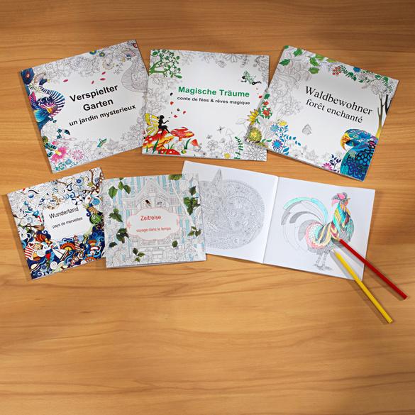 Livre de coloriage Le royaume des animaux