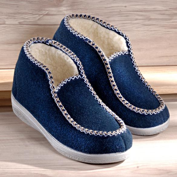 Chaussons, bleu marine