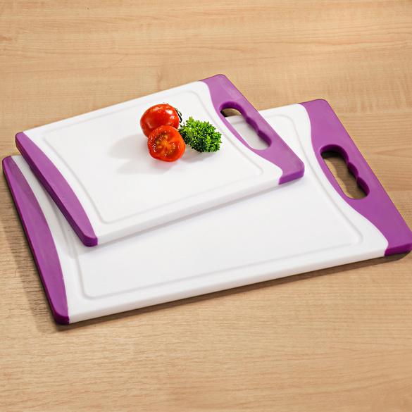 Planche à découper, blanc-violet, petite