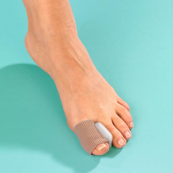 Protection d'orteil avec coussinet