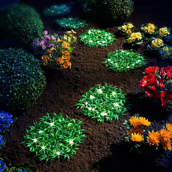 Dalles de pelouse artificielle solaires