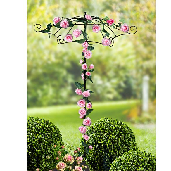 Support plantes grimpantes ombrelle vitrine magique - Support pour plantes exterieur ...