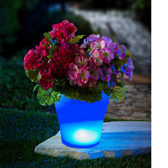 Cache-pot à LED