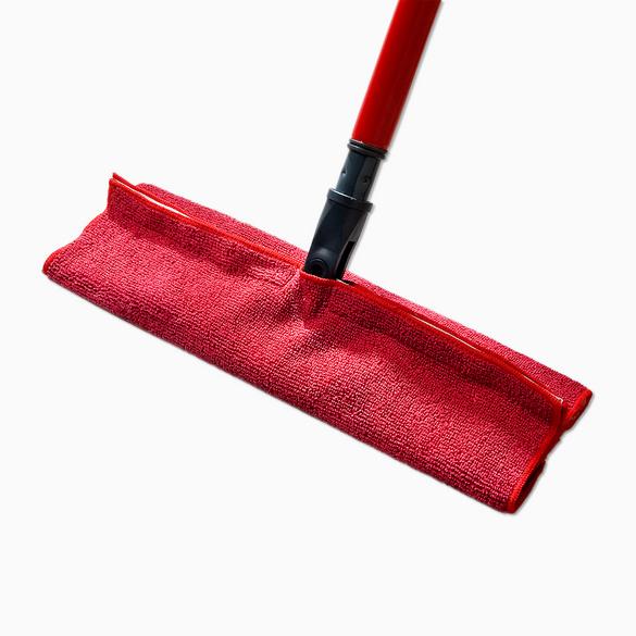 Serpillère en microfibre, rouge
