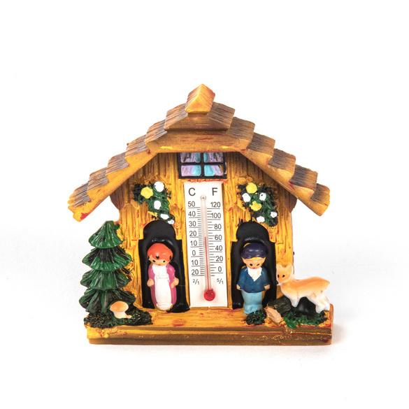 Maisonnette-thermomètre