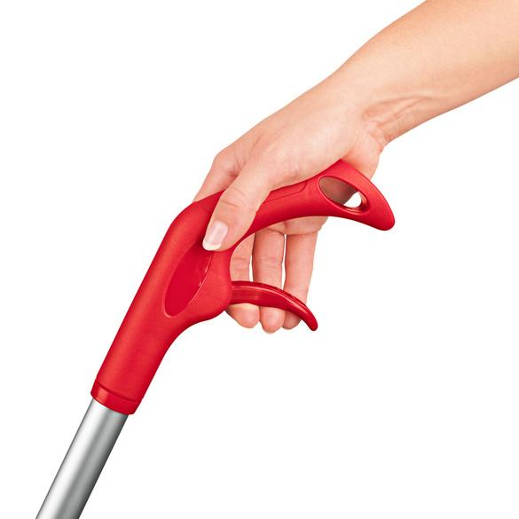 Balai vaporisateur flexible, rouge