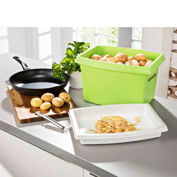 rangement sp cial pommes de terre vert vitrine magique. Black Bedroom Furniture Sets. Home Design Ideas