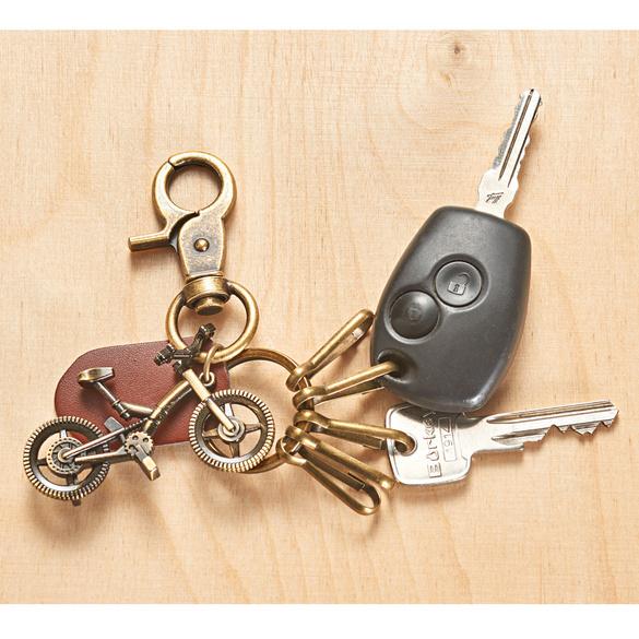 Porte-clés, pendentif vélo