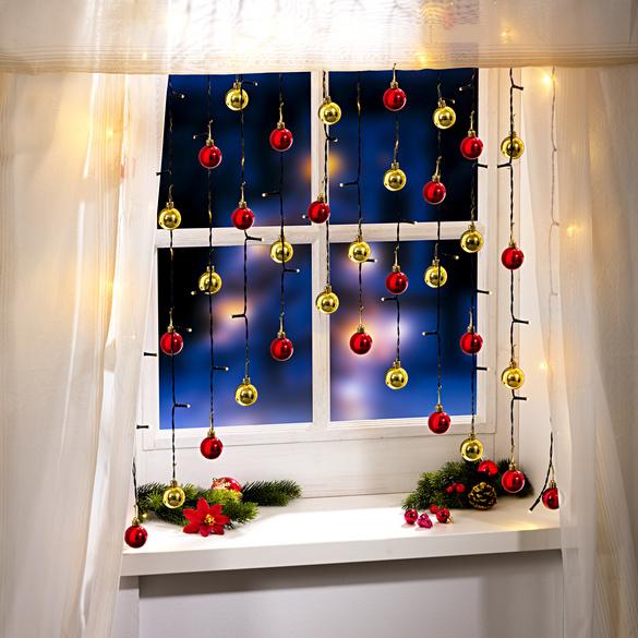 Rideau lumineux vitrine magique for Rideau lumineux interieur