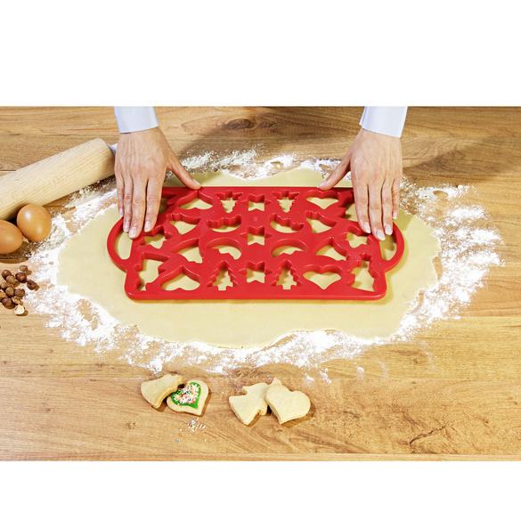 Plaque à pâtisserie emporte-pièce