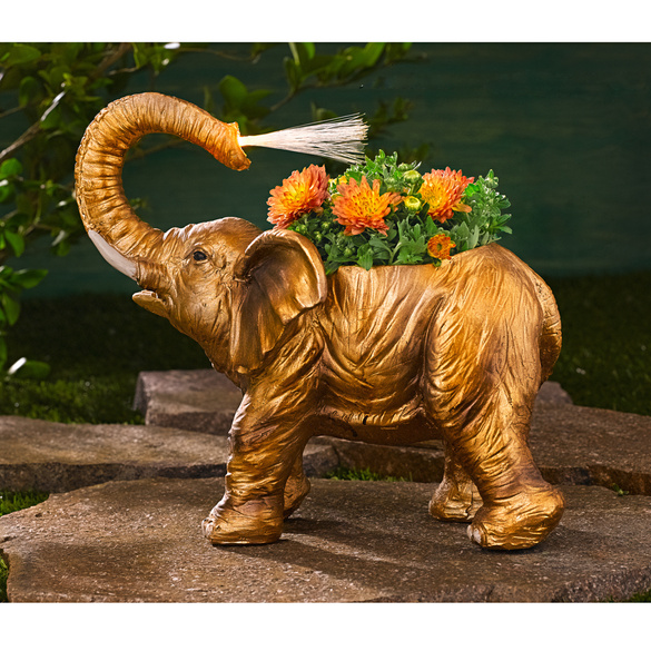 Éléphant à garnir de plantes
