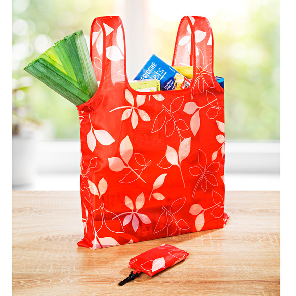 Sac pliable, rouge