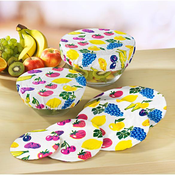 """Couvre-plats """"Fruits"""", lot de 10"""
