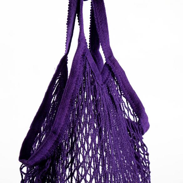 Filet à provisions, violet
