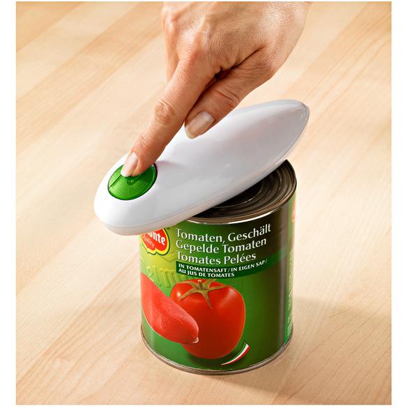 Ouvre-boîte électrique + ouvre-bouchons, vert