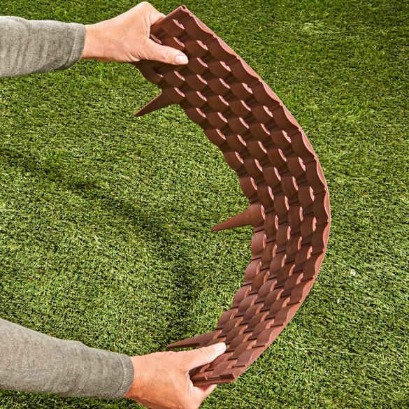 Bordure flexible aspect tressé, 4éléments