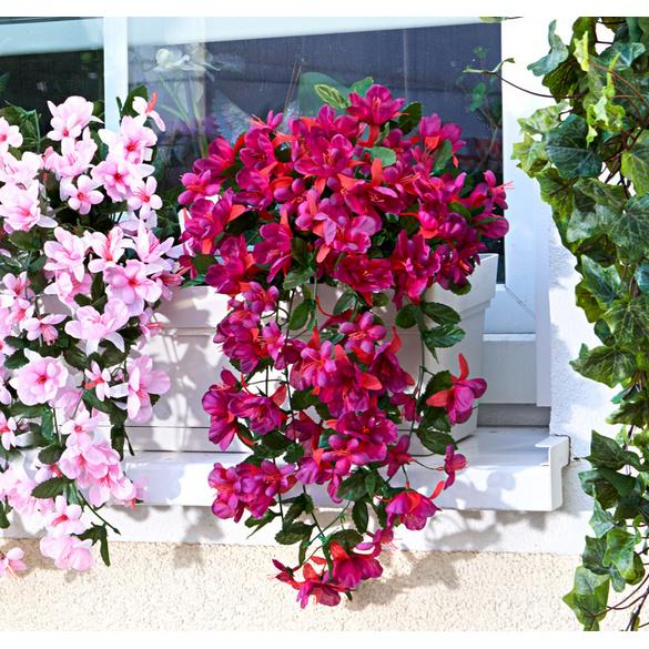 Bouquet de fuchsias à suspendre, rouge