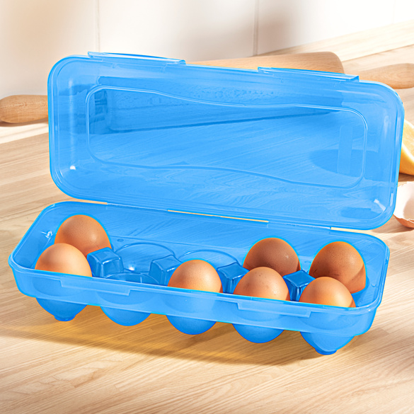 Boîte à œufs, bleu
