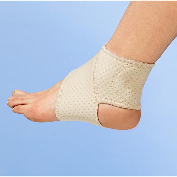 Bandage cheville aimantée