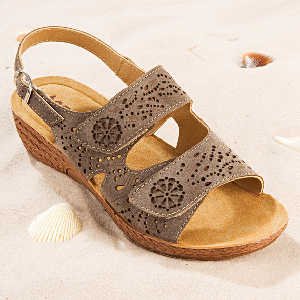 Sandales, marron