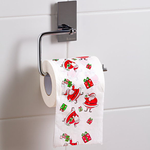 Papier toilette Noël