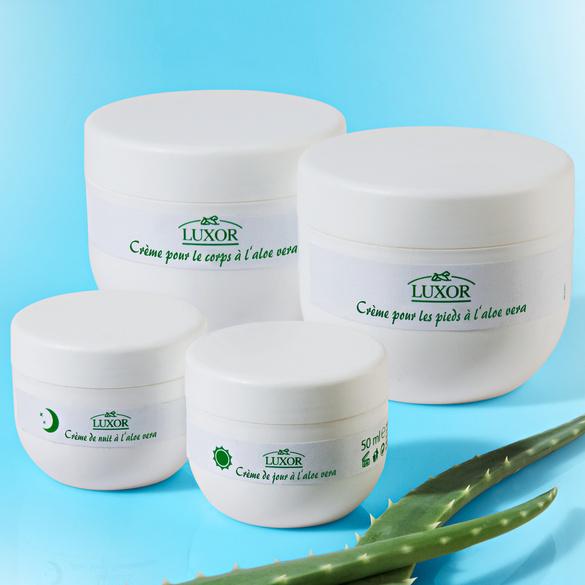 Crème pour le corps à l'aloe vera