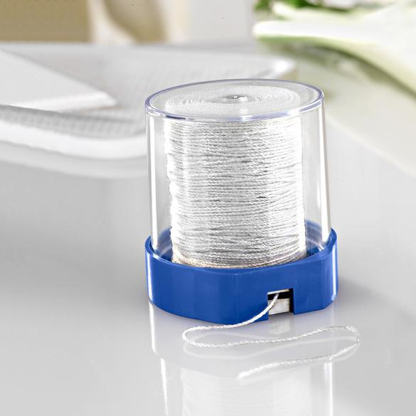 Distributeur de fil, bleu