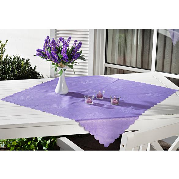 Surnappe 80x80, violet