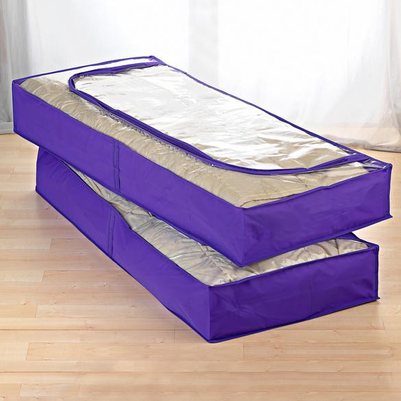 housse dessous de lit lot de 2 vitrine magique. Black Bedroom Furniture Sets. Home Design Ideas