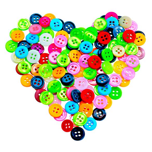 Lot de 200 boutons