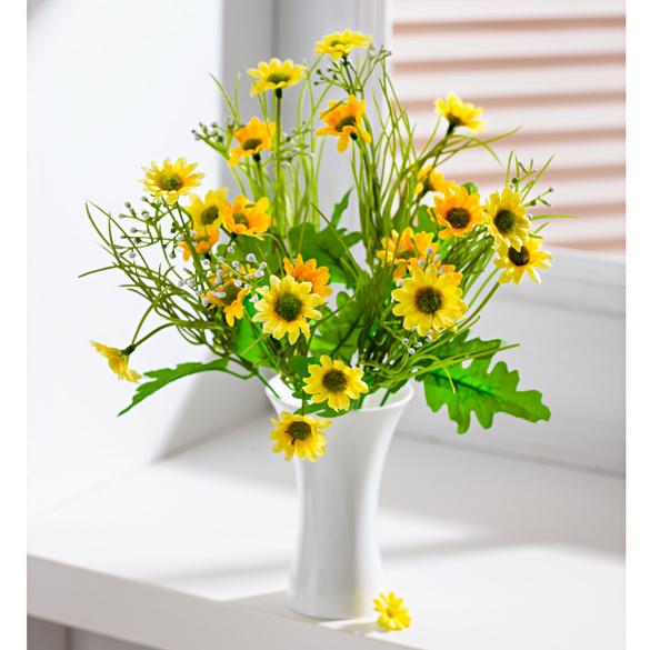 Bouquet de fleurs des champs, jaune