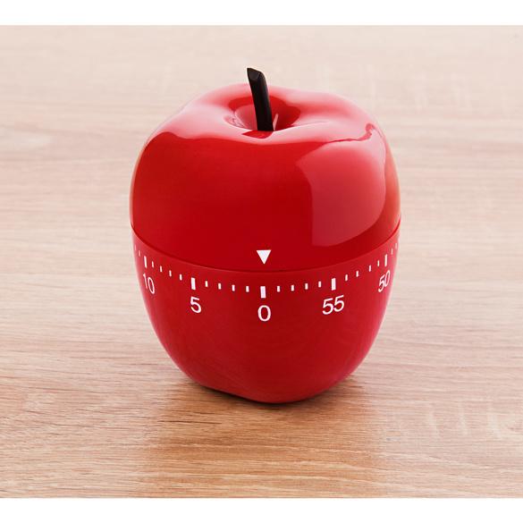 Minuteur « Pomme d'amour », rouge