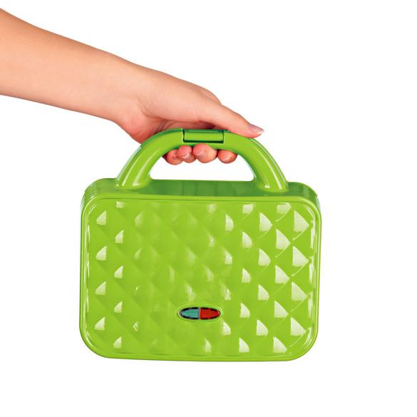 Grill compact, vert, Référence: 3203800