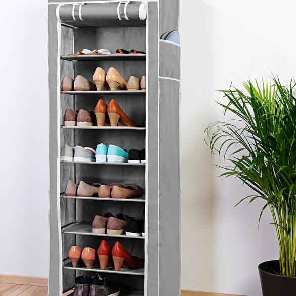 Armoire à chaussures, gris