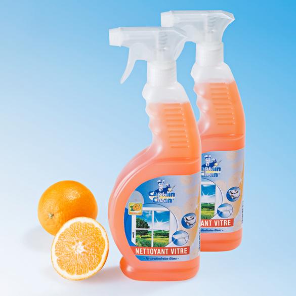 Nettoyant pour vitres orange, 650 ml