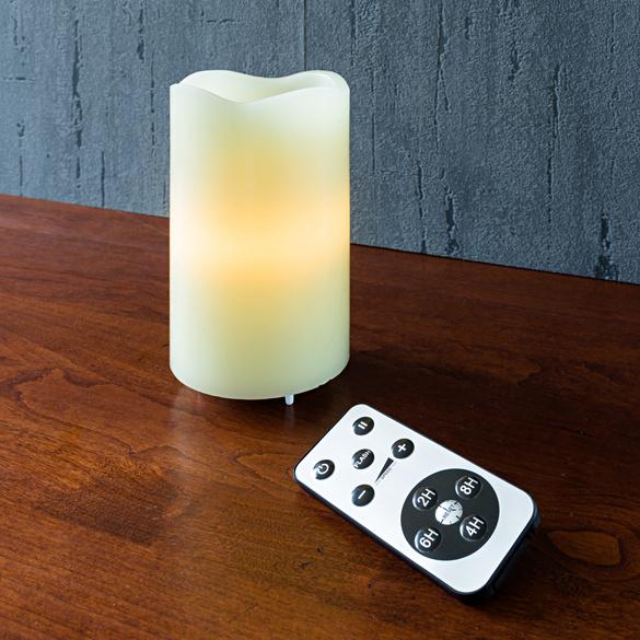 Bougie à LED en cire véritable