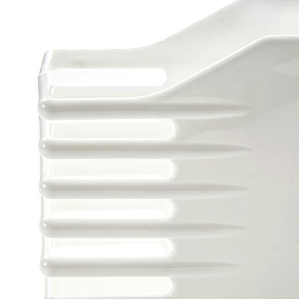 Porte-brique, blanc