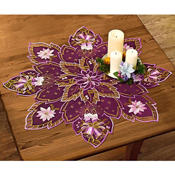 Napperon Étoile, violet