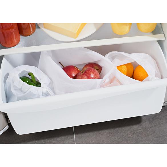 Le lot de 3 sacs pour fruits et légumes