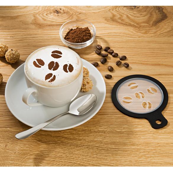 Lot de 4 pochoirs cappuccino