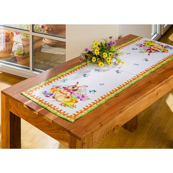 /Él/éphants Cr/ème et orange Chemin de Table Nappe pour la cuisine salon Thai Silk Dimensions 150/cm x 30/cm